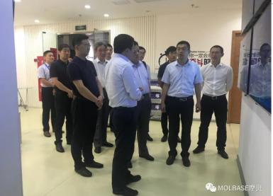 太仓市市长汪香元一行莅临上海摩贝参观考察